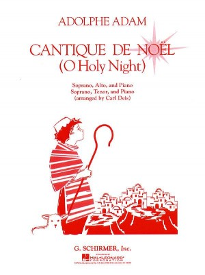 Adolphe Adam: Cantique De Noel Vocal Duet