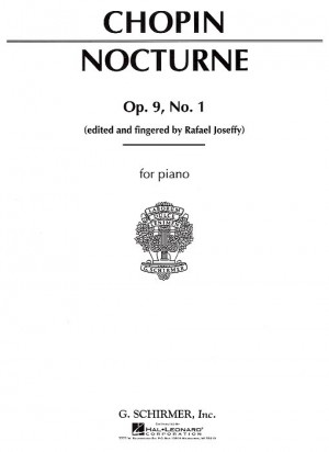 Frederic Chopin: Nocturne In G Flat Major Op.9 No.1