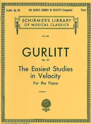 Cornelius Gurlitt: Easiest Studies In Velocity Op.83