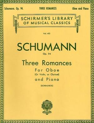 Robert Schumann: Three Romances Op.94