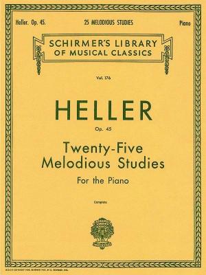 Stephen Heller: Twenty-Five Melodious Studies Op.45 (Complete)