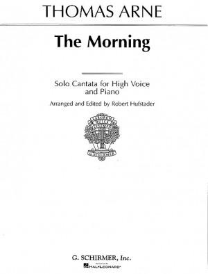 Thomas Arne: The Morning