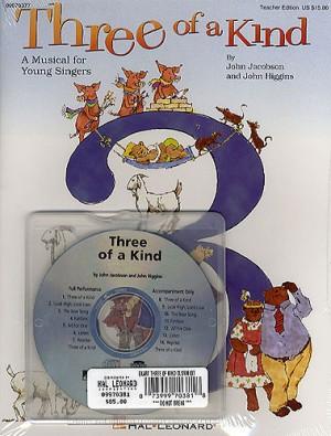 John Higgins_John Jacobson: Three of a Kind (Musical)