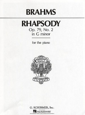 Johannes Brahms: Rhapsody In G Minor Op.79 No.2