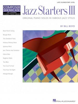 Bill Boyd: Jazz Starters Vol. 3