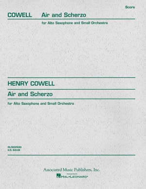 Henry Cowell: Air and Scherzo