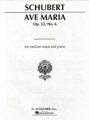 Franz Schubert: Ave Maria Op.52 No.6