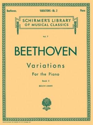 Ludwig van Beethoven: Variations Book 2