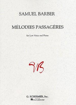 Samuel Barber: Melodies Passageres Op.27