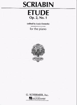 Alexander Scriabin: Etude In C Sharp Minor Op.2 No.1