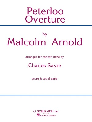 Malcolm Arnold: Peterloo Overture (Score/Parts)