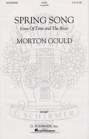 M Gould: Spring Song From Of Time And The River