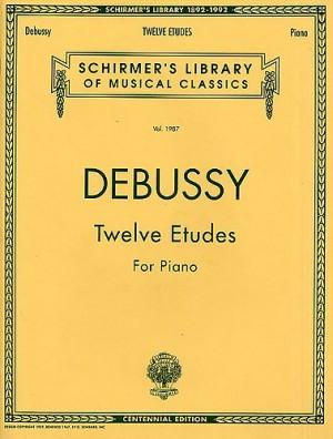 Claude Debussy: Twelve Etudes For Piano