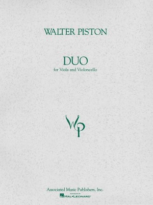 Walter Piston: Duo For Viola And Cello