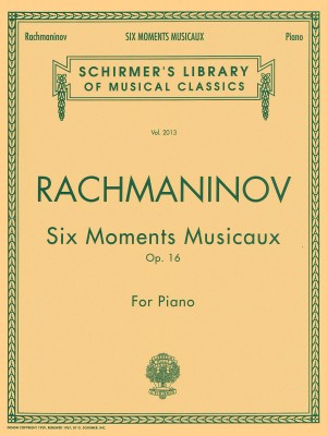Sergei Rachmaninov: Six Moments Musicaux Op.16 Product Image