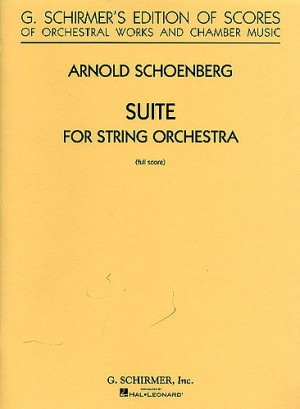 Arnold Schoenberg: Suite For String Orchestra (Score)