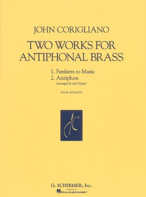 John Corigliano: 2 Works For Antiphonal Brass (Score And Parts)