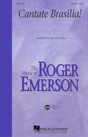 Roger Emerson: Cantate Brasilia (SSA)