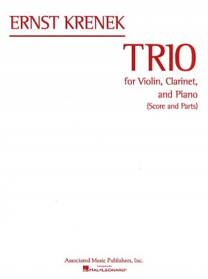 Ernst Krenek: Trio For Violin, Clarinet And Piano (Score/Parts)