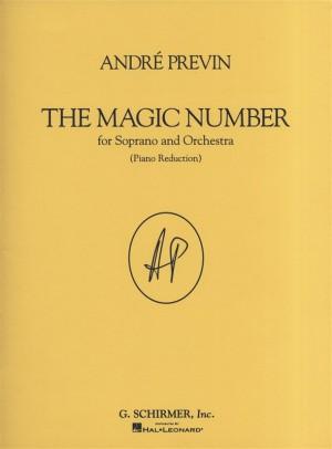Andre Previn: The Magic Number (Soprano/Piano)