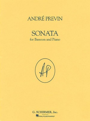 Andre Previn: Sonata For Bassoon And Piano