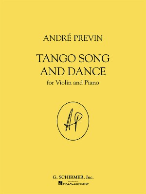 Andre Previn: Tango Song And Dance For Violin And Piano Product Image