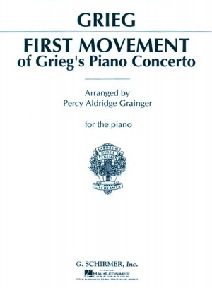 Edvard Grieg: Piano Concerto In A Minor First Movement (Piano Solo)