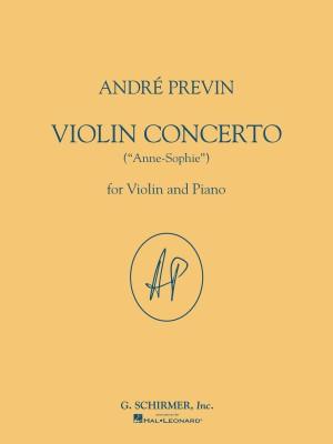 Andre Previn: Violin Concerto 'Anne-Sophie' (Violin/Piano)