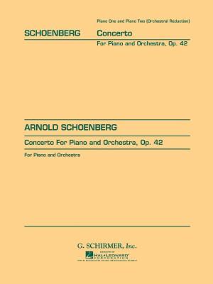 Arnold Schoenberg: Piano Concerto Op.42 (2 Piano Score)