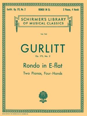 Cornelius Gurlitt: Rondo In E Flat Op.175 No.2 (4 Hands, 2 Pianos)