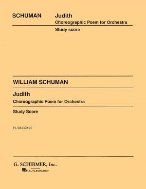 William Schuman: Judith Product Image