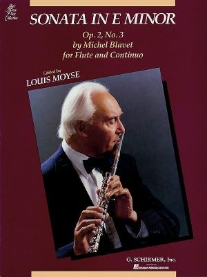 Michel Blavet: Sonata In E Minor For Flute And Continuo Op.2 No.3