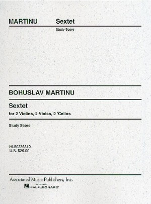 Bohuslav Martinu: Sextet (Miniature Score)