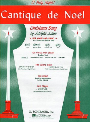Adolphe Adam: Cantique De Noel (O Holy Night)For High Voice And Organ In E Flat