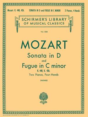W.A. Mozart: Sonata In D (K.448)/Fugue In C Minor (K.426)- 2 Pianos