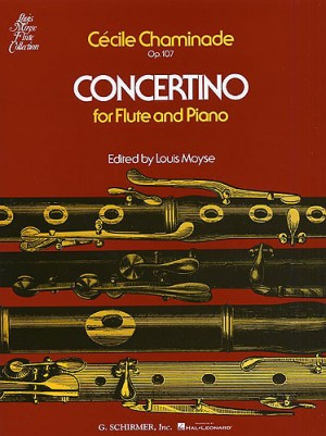 Cecile Chaminade: Concertino For Flute And Piano Op.107