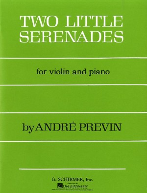 Andre Previn: Two Little Serenades For Violin And Piano