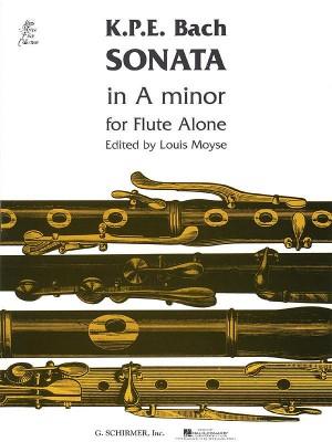 Carl Philipp Emanuel Bach: Sonata In A Minor For Solo Flute