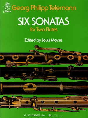 Georg Philipp Telemann: Six Sonatas For Two Flutes