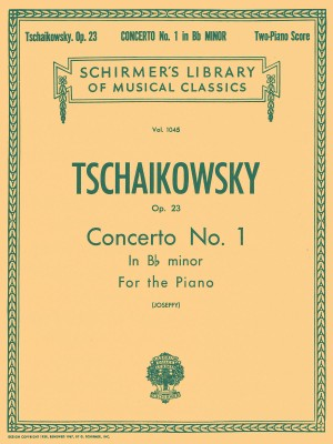 Pyotr Ilyich Tchaikovsky: Piano Concerto No.1 In B Flat Minor Op.23 (2 Piano Score)