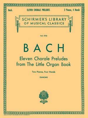 J.S. Bach: Eleven Chorale Preludes From 'Orgelbuchlein' (2 Pianos)