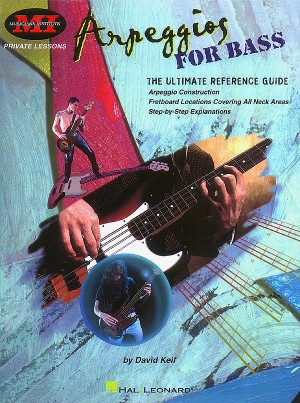 David Keif: Arpeggios For Bass Product Image