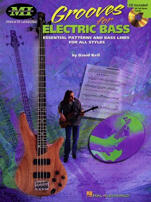 David Keif: Grooves For Electric Bass Product Image
