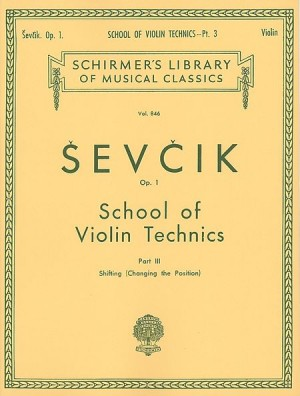 Otakar Sevcik: School Of Violin Technics Op.1 - Book 3 (Changing Position)