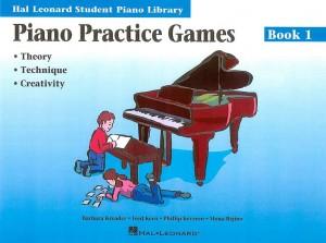 Barbara Kreader: Piano Practice Games Book 1