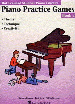 Barbara Kreader: Piano Practice Games Book 2