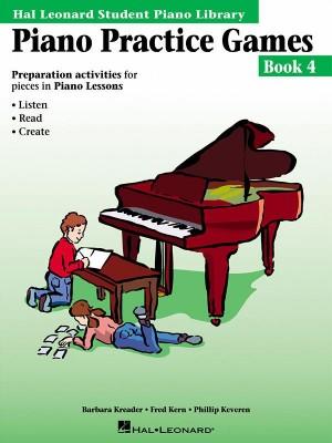 Barbara  Kreader: Piano Practice Games Book 4
