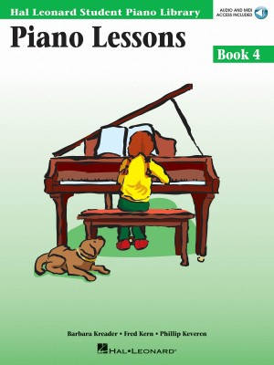 Piano Lessons Book 4 (Book/CD)