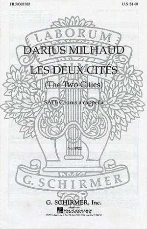 Darius Milhaud: Elegie (Les Deux Cites No.2)