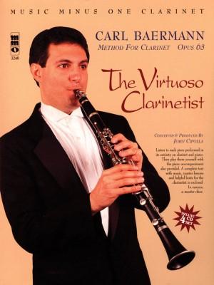 Carl Baermann: Method For Clarinet Op. 63 - The Virtuoso Clarinetist (Book/CD)